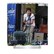 John Mayer And Robbie Mcintosh  Taste Of Chicago Shower Curtain