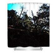 John Muir Trail Shower Curtain
