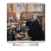 John Peter Zenger Trial Shower Curtain