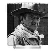John Wayne Rio Lobo Old Tucson Arizona 1970 Shower Curtain