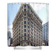 Johnston Building - Nomad Hotel Shower Curtain