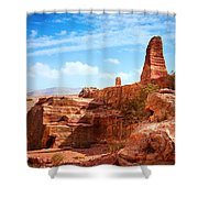 Jordanian Desert Shower Curtain