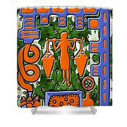Juice Shower Curtain