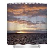 Kailua Sunset Shower Curtain