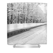 Kancamagus Scenic Byway - White Mountains New Hampshire Usa Shower Curtain