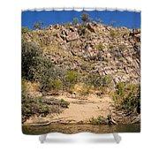 Katherine Gorge Landscapes Shower Curtain