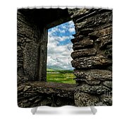 Kilchurn Castle Shower Curtain