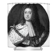 King George I (1660-1727) Shower Curtain