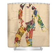 King Of Pop In Concert No 6 Shower Curtain