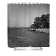 Kingsland Point Shower Curtain