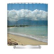 Kite Beach Kanaha Maui Hawaii Shower Curtain