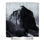 Kiwanda Mist Shower Curtain