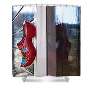 Klompen Shower Curtain