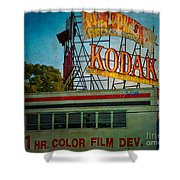 Kodak's Moment Shower Curtain