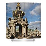 Kronentor Zwinger Dresden  Shower Curtain