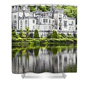 Kylemore Abbeycounty Galway Ireland Shower Curtain