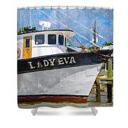 Lady Eva Shower Curtain