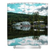 Lake Morey Inn And Resort Shower Curtain