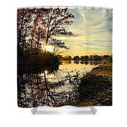 Lake Wausau Sunset Shower Curtain