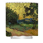 Landscape At Twilight Shower Curtain