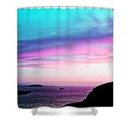 Landscape - Sunset Shower Curtain
