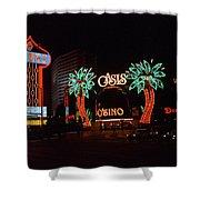 Las Vegas 1983 #2 Shower Curtain