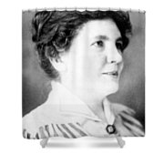 Laura Ingalls Wilder (1867-1957) Shower Curtain