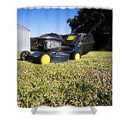Lawn Mower Shower Curtain