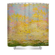 Light And Fluffy Shower Curtain