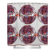 Light Globes Interior Decorations Entertainment Hotels Resorts Casino Bar Las Vegas America Usa Shower Curtain