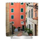 Liguria - Sori Shower Curtain