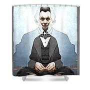 Lincoln Childlike Shower Curtain