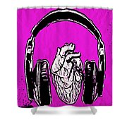 Listen 2 Your Heart Shower Curtain