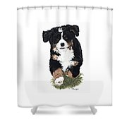 Little Ms. Muffet Shower Curtain