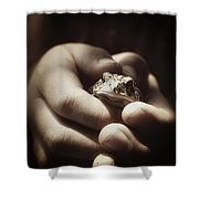 Little Toad Shower Curtain