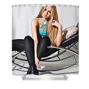 Liuda14 Shower Curtain