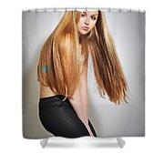 Liuda15 Shower Curtain
