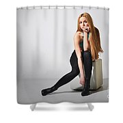 Liuda17 Shower Curtain