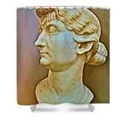 Livia In Ephesus Museum-turkey  Shower Curtain
