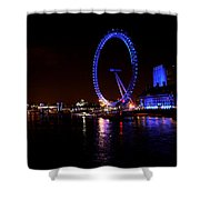 River Thames - London Shower Curtain