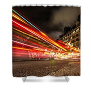 London Lights Shower Curtain