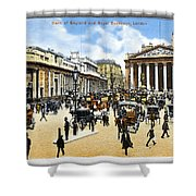 London Royal Exchange Shower Curtain