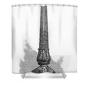 London Street Lamp, 1870 Shower Curtain