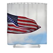 Long May You Wave Shower Curtain