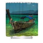 Longboat Shower Curtain