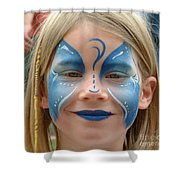 Looby The Butterfly Shower Curtain