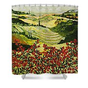 Look And Behold Shower Curtain