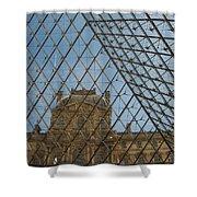 Louvre In Paris France Shower Curtain