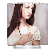 Love And Loss Shower Curtain
