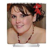 Lovely Rachel Shower Curtain